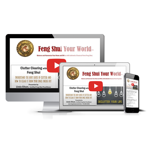 Feng Shui Clutter Clearing Class On Demand Download from Feng Shui Your World