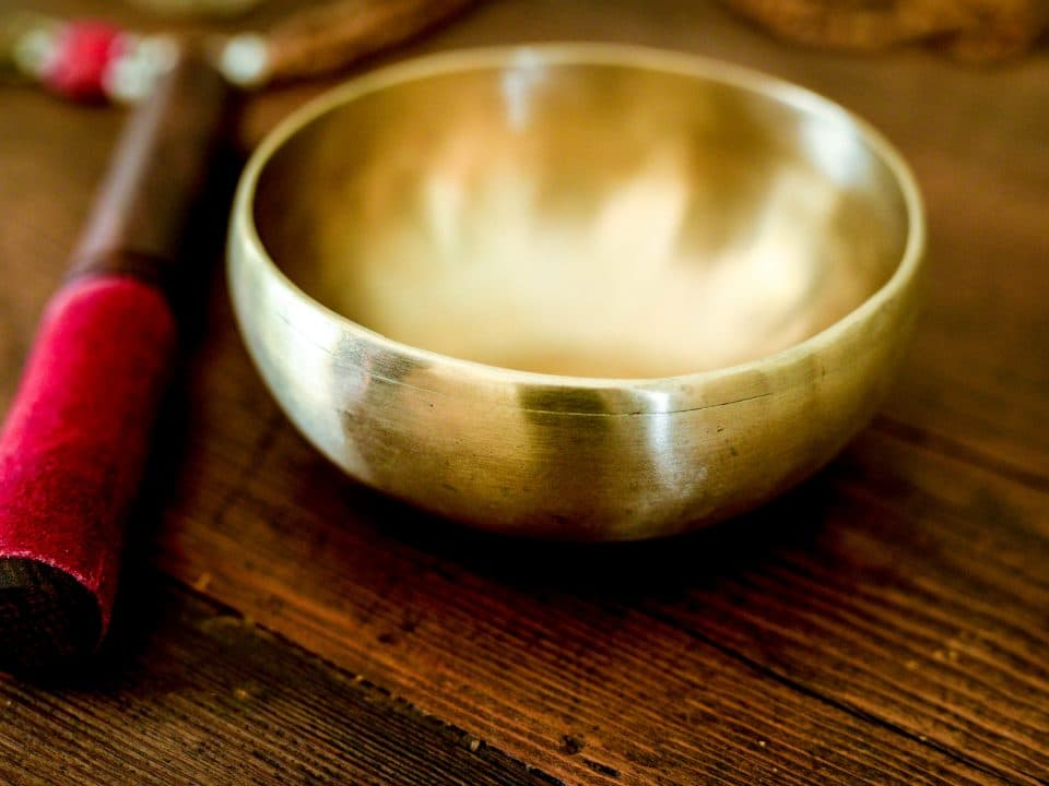 Tibetan Singing Bowl for Space Clearing