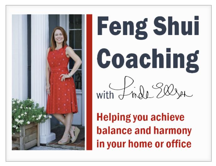 Feng Shui Coaching with Linda Ellson