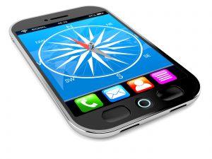 smartphone compass app